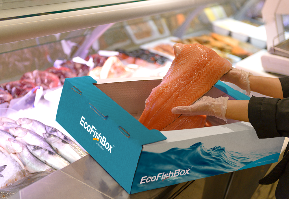 EcoFishBox - renewable fish packaging