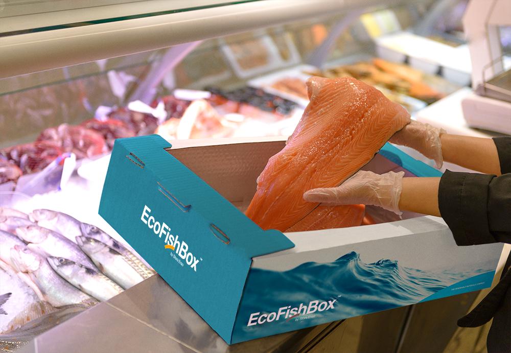 EcoFishBox - renewable fish packaging